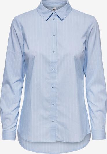JDY Bluse in hellblau / weiß, Produktansicht