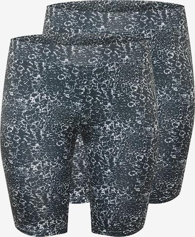 Leggings Urban Classics Curvy pe negru, Vizualizare produs