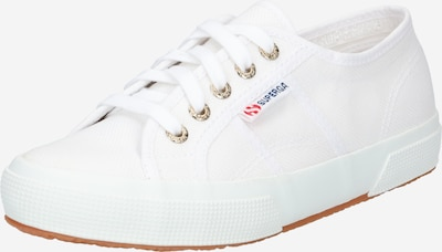 SUPERGA Zemie brīvā laika apavi 'Cotu', krāsa - balts, Preces skats