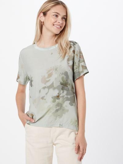 Esprit Collection Тениска в Каки / маслина / пастелно зелено: Изглед отпред
