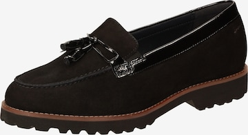 SIOUX Classic Flats in Black