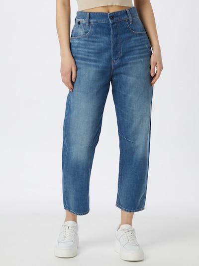 Jeans G-Star RAW pe albastru denim, Vizualizare model
