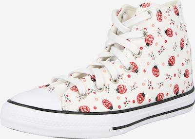 CONVERSE Sneaker in rot / schwarz / weiß, Produktansicht