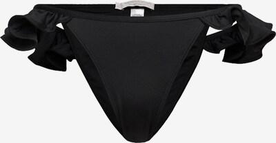 Underprotection Bikinihose in schwarz, Produktansicht