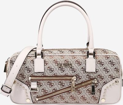 GUESS Käsilaukku 'FRANKIE' värissä ruskea / cappuccino / valkoinen, Tuotenäkymä