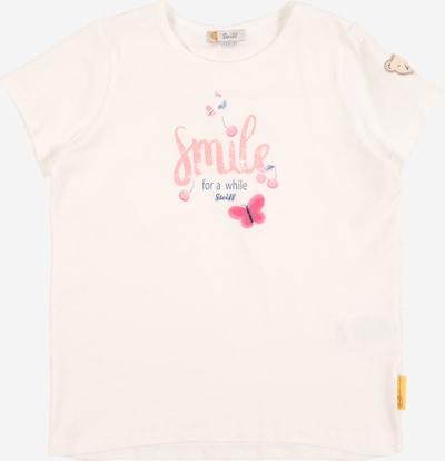 Steiff Collection Camiseta en beige / azul ahumado / rosé, Vista del producto