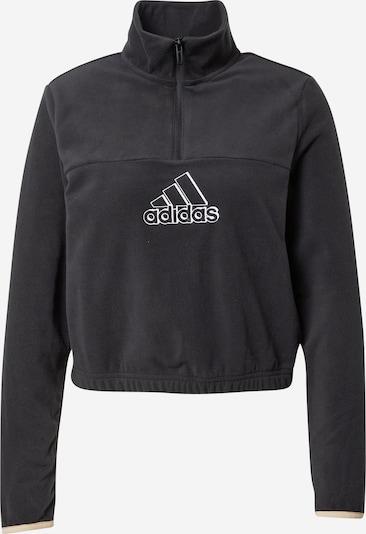 ADIDAS PERFORMANCE Athletic Sweatshirt in Beige / Black / White, Item view