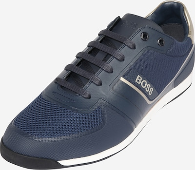 BOSS Sneakers laag 'Glaze' in de kleur Navy / Wit, Productweergave