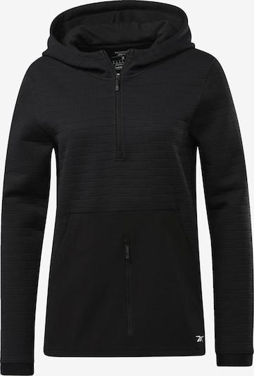 REEBOK Sportief sweatvest in de kleur Zwart, Productweergave