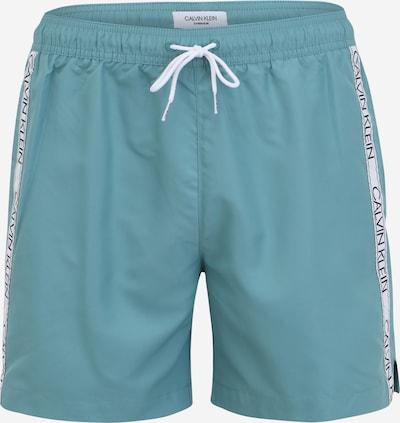 Calvin Klein Swimwear Plavecké šortky - svetlomodrá / čierna / biela, Produkt