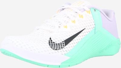 NIKE Αθλητικό παπούτσι 'METCON 6' σε ασημόγκριζο / γαλαζοπράσινο / μαύρο / λευκό, Άποψη προϊόντος