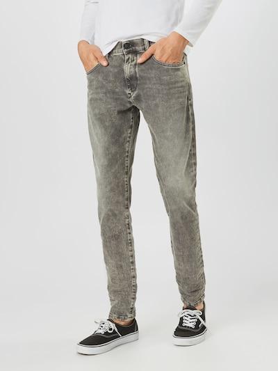DIESEL Jeans in grey denim: Frontalansicht