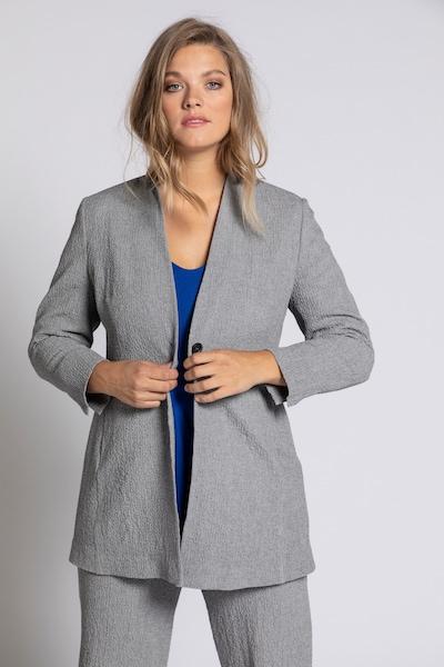 Ulla Popken Blazer in grau, Modelansicht