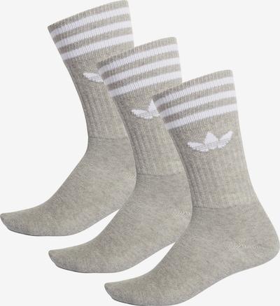 ADIDAS ORIGINALS Socken in grau / weiß, Produktansicht