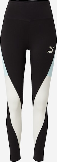 PUMA Workout Pants in Light blue / Black / White, Item view