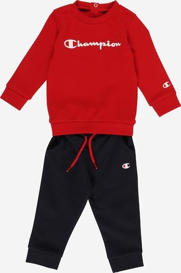 Champion Authentic Athletic Apparel Jogging komplet u crvena / crna / bijela, Pregled proizvoda
