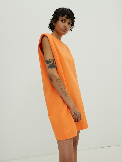 EDITED Kleid 'Rosie' - (GOTS) in orange, Modelansicht