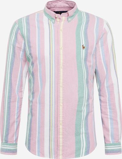 POLO RALPH LAUREN Hemd in mint / pink / weiß, Produktansicht