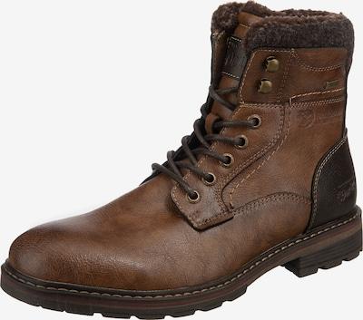 TOM TAILOR DENIM Boots in braun / dunkelgrau, Produktansicht