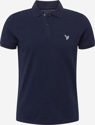 American Eagle T-shirt i marinblå / mocka / vit, Produktvy