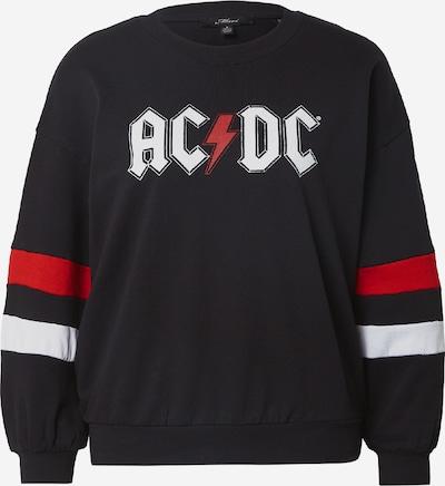 Mavi Sweat-shirt 'ROLLING STONES' en rouge / rouge pastel / noir / blanc, Vue avec produit