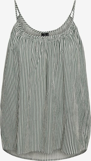 VERO MODA Haut 'Annabelle' en vert / noir / blanc, Vue avec produit