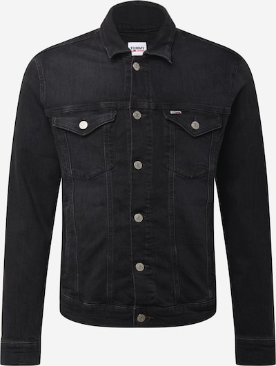 Geacă de primăvară-toamnă Tommy Jeans pe denim negru, Vizualizare produs