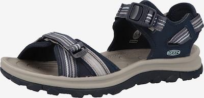 KEEN Sandaal 'Terradora II' in de kleur Blauw, Productweergave