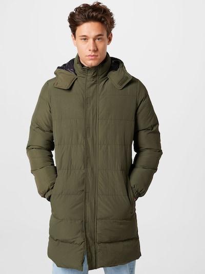 BLEND Mantel in grün, Modelansicht