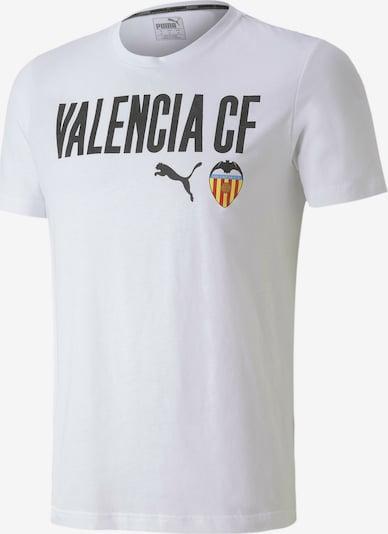PUMA T-Shirt 'Valencia' in mischfarben / schwarz / weiß, Produktansicht