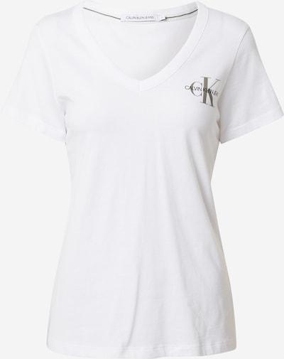Calvin Klein Jeans T-Shirt in grau / schwarz / weiß, Produktansicht