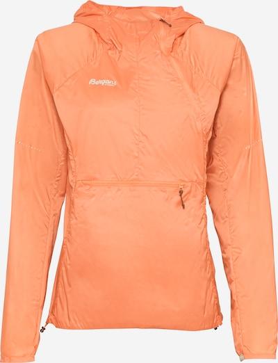 Bergans Sport-Jacke 'Fløyen' in orange / weiß, Produktansicht