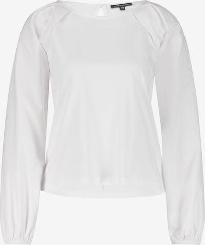 ONE MORE STORY BASIC - Langarmshirt mit Gummi Ärmelbündchen in weiß, Produktansicht