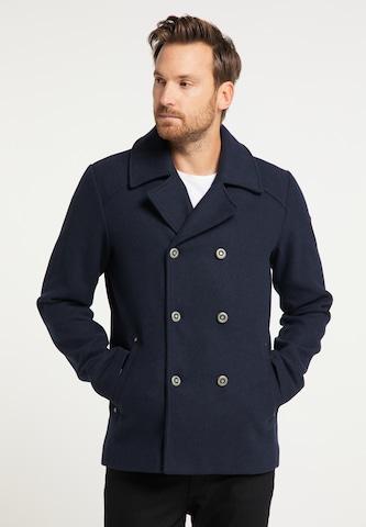 Manteau mi-saison DreiMaster Vintage en bleu