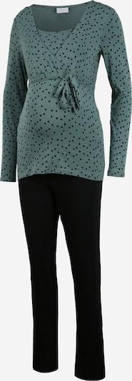 MAMALICIOUS Pyjama in opal / schwarz, Produktansicht