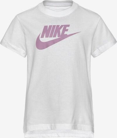 Nike Sportswear T-Shirt in rosa / weiß, Produktansicht