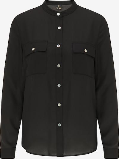 DreiMaster Klassik Bluse in schwarz, Produktansicht