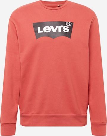 Bluză de molton de la LEVI'S pe roșu