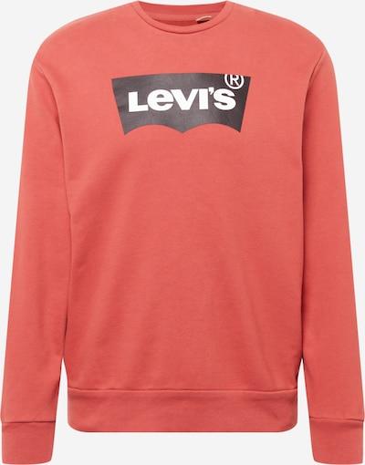 LEVI'S Sweatshirt in pastellrot / schwarz / weiß, Produktansicht