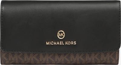 Piniginė iš MICHAEL Michael Kors, spalva – ruda / juoda, Prekių apžvalga