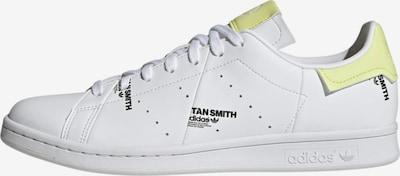 ADIDAS ORIGINALS Sneakers laag 'Stan Smith' in de kleur Lichtgeel / Wit, Productweergave