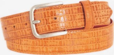 BA98 Ledergürtel in orange, Produktansicht