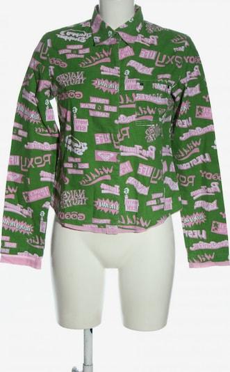QUIKSILVER Langarmhemd in S in grün / pink, Produktansicht