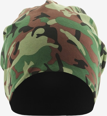 MSTRDS Beanie ' Printed Jersey Beanie ' in Mixed colors