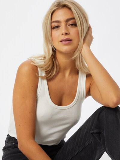 Top 'Jesscia' VERO MODA pe negru / alb, Vizualizare model