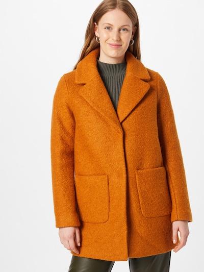 Demisezoninis paltas iš ICHI, spalva – rusva, Modelio vaizdas