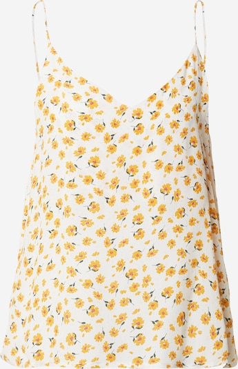 Cotton On Top 'Astrid Cami' | rumena / bela barva, Prikaz izdelka