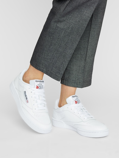 Reebok Classics Sneaker 'Club C 85' in offwhite: Frontalansicht