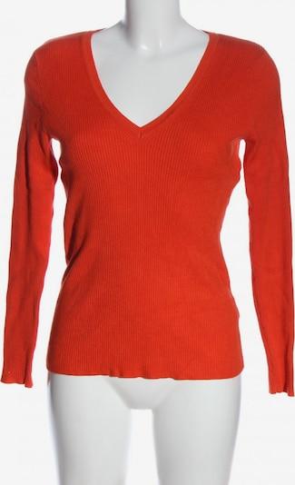 M&S V-Ausschnitt-Pullover in L in rot, Produktansicht