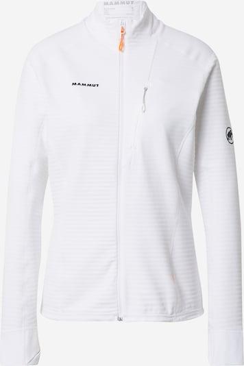 MAMMUT Functionele fleece jas 'Aconcagua' in de kleur Zwart / Wit, Productweergave